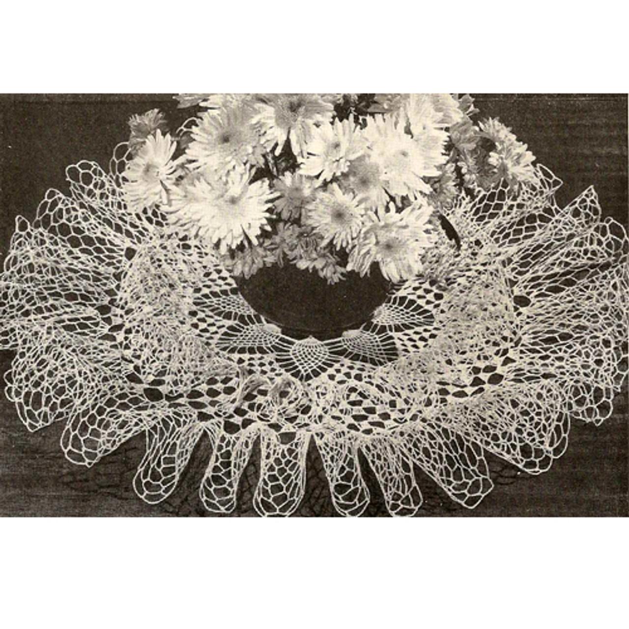 Cascade Crocheted Doily Pattern