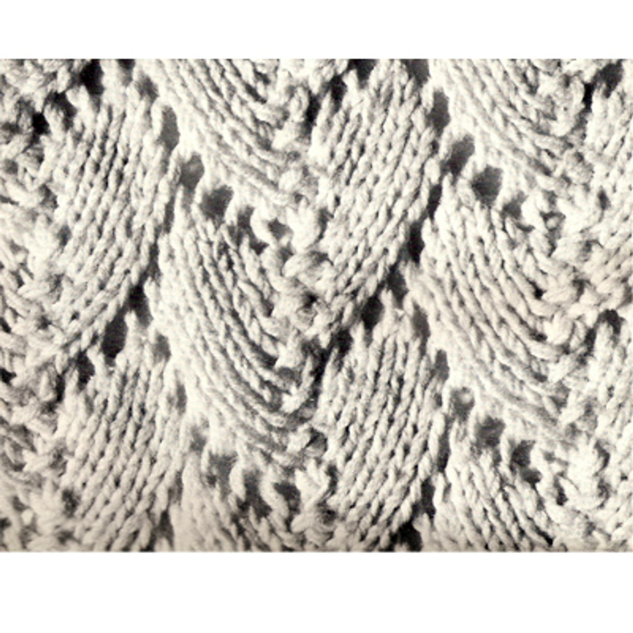 Knitted Afghan pattern stitch detail