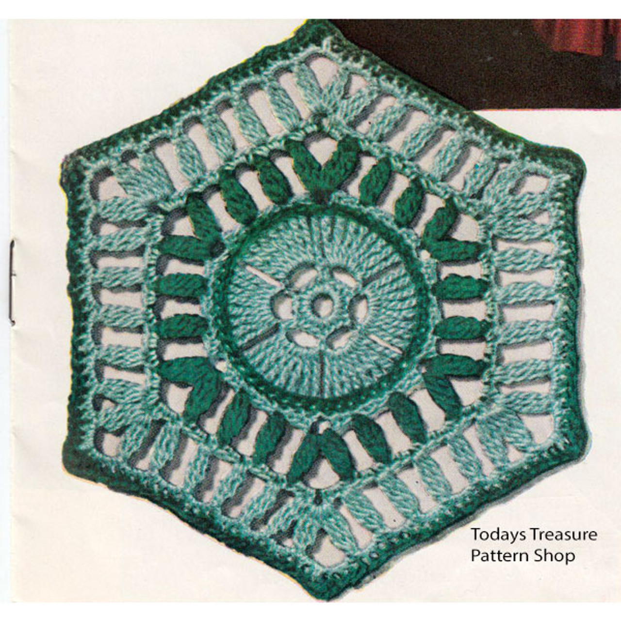Texas Modern Crochet Medallion Pattern
