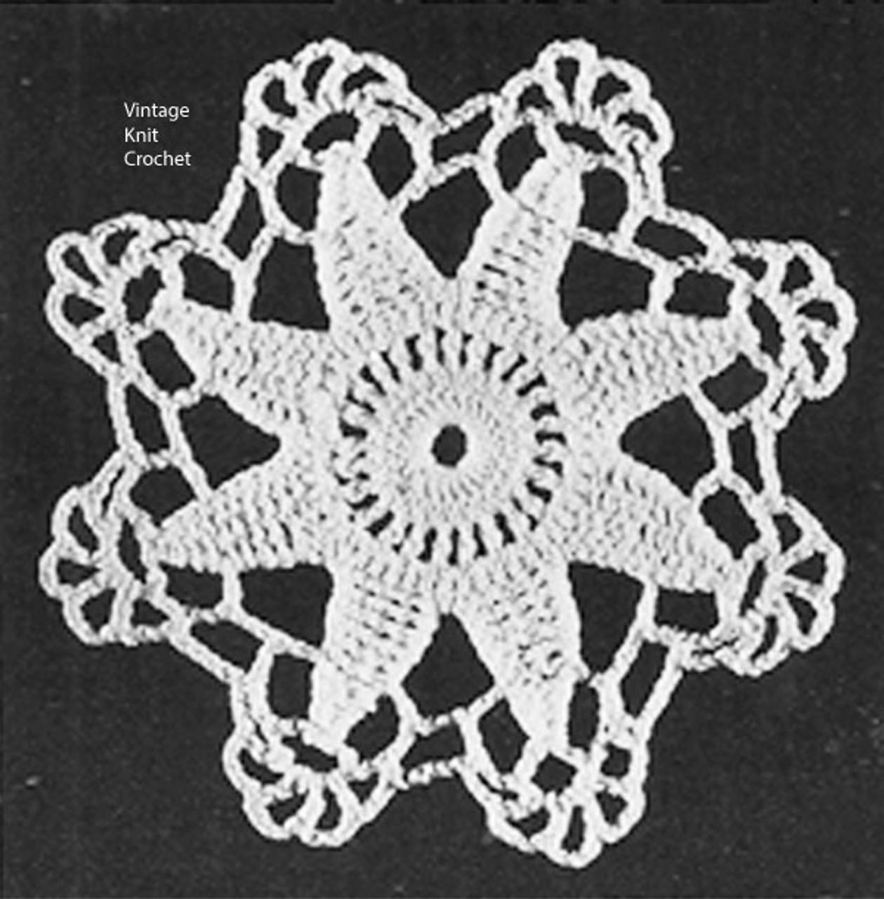 Small Star Medallion Pattern Illustration
