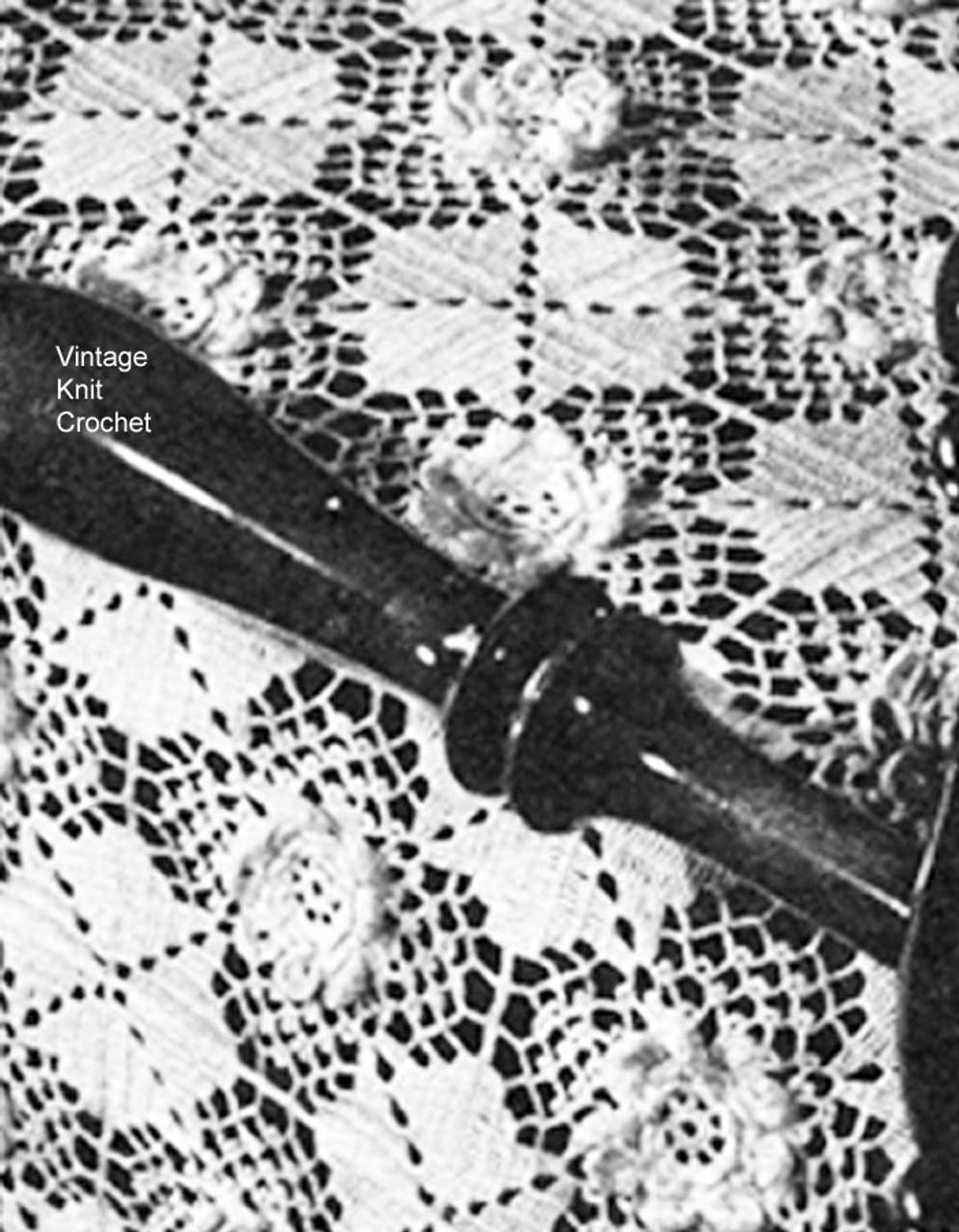 Touch of Blarney Crochet Bedspread Pattern