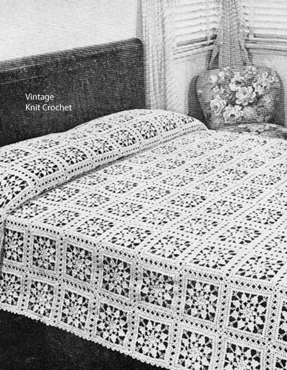 Fairy Ring Crochet Bedspread Pattern
