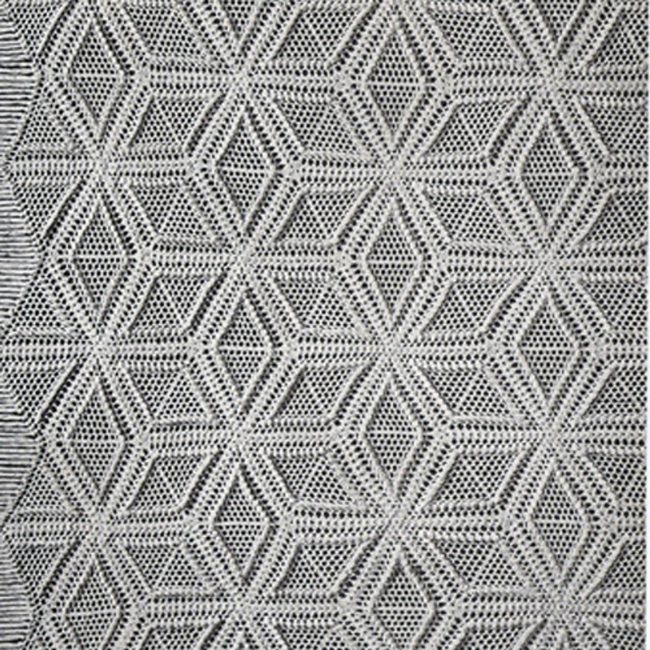 Vintage Popcorn Stitch Crochet Bedspread Pattern