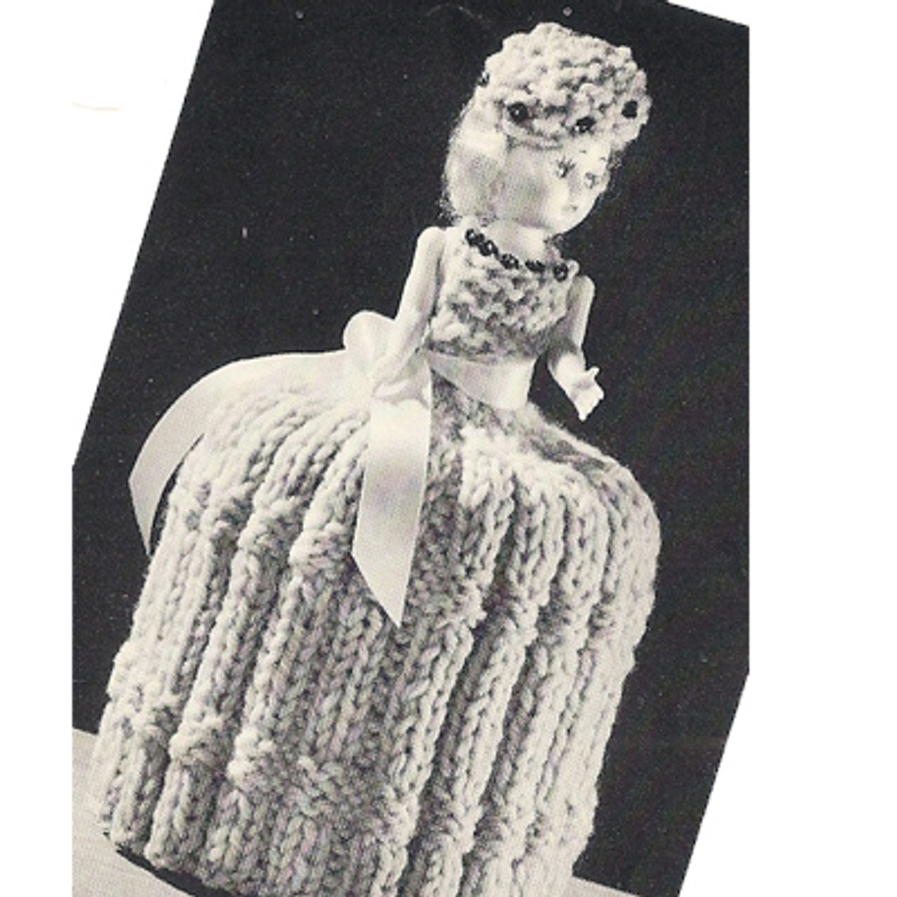 Knitted Doll TP Topper Pattern