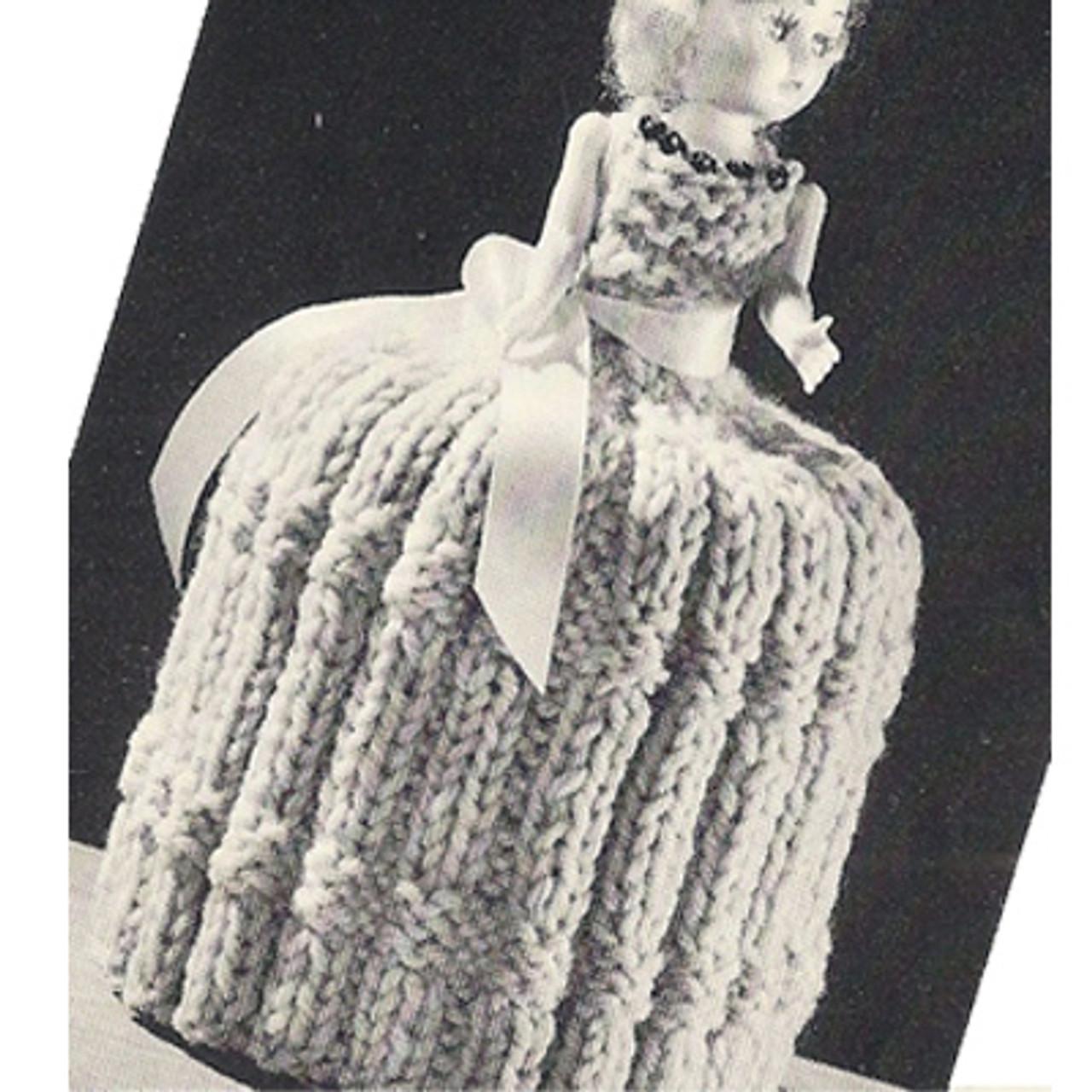 Vintage TP Girl Topper Pattern