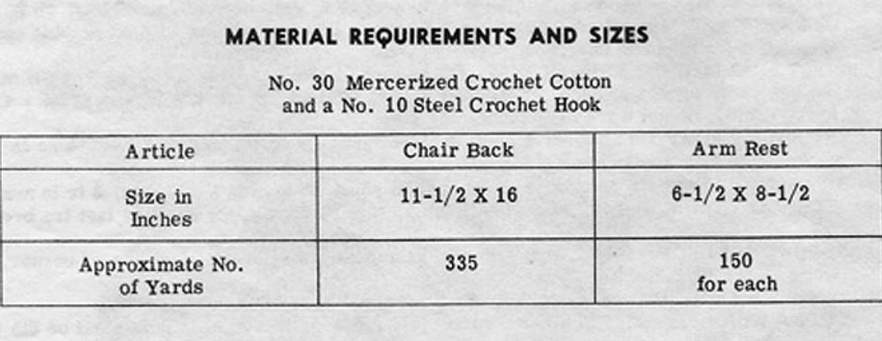 Pineapple Crochet Butterfly Chair Set Pattern  Design 7111