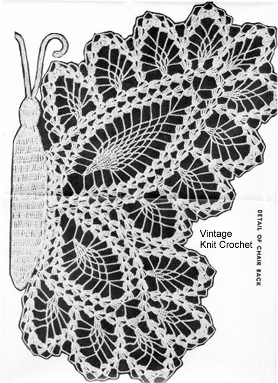 Pineapple Butterfly Crochet Pattern, Alice Brooks 7111