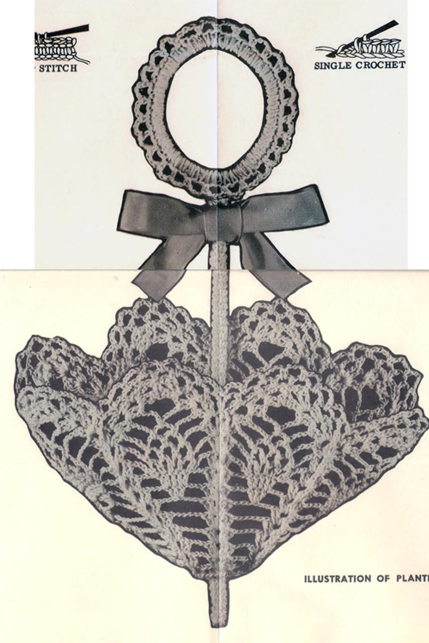 Crochet Parasol Decoration Pattern