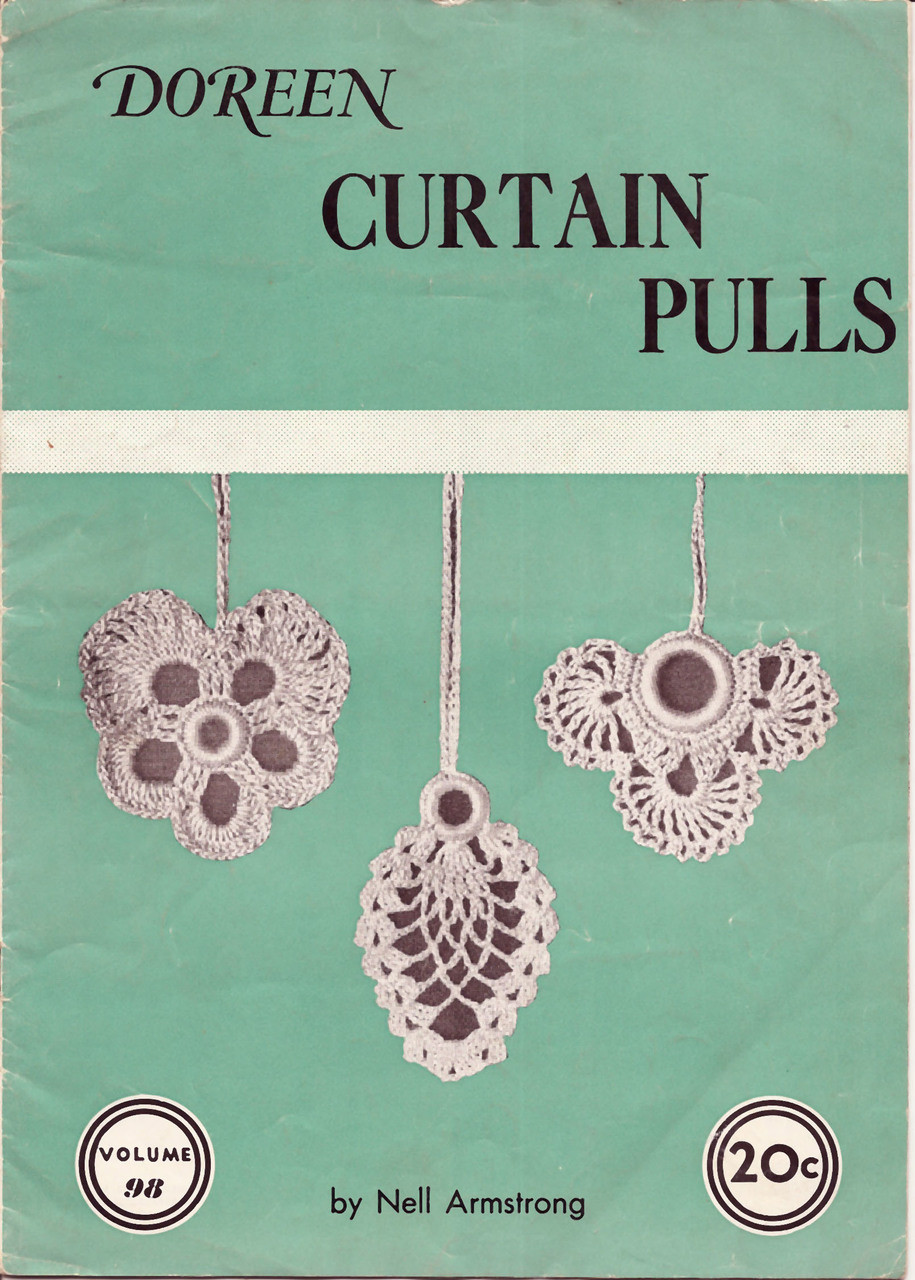 Crochet Curtain Pull Ornaments, Doreen Book 98