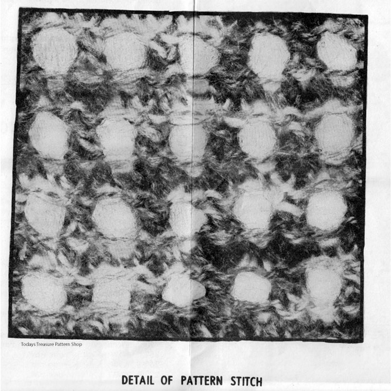 Sleeveless Top Knitting Pattern Design 826