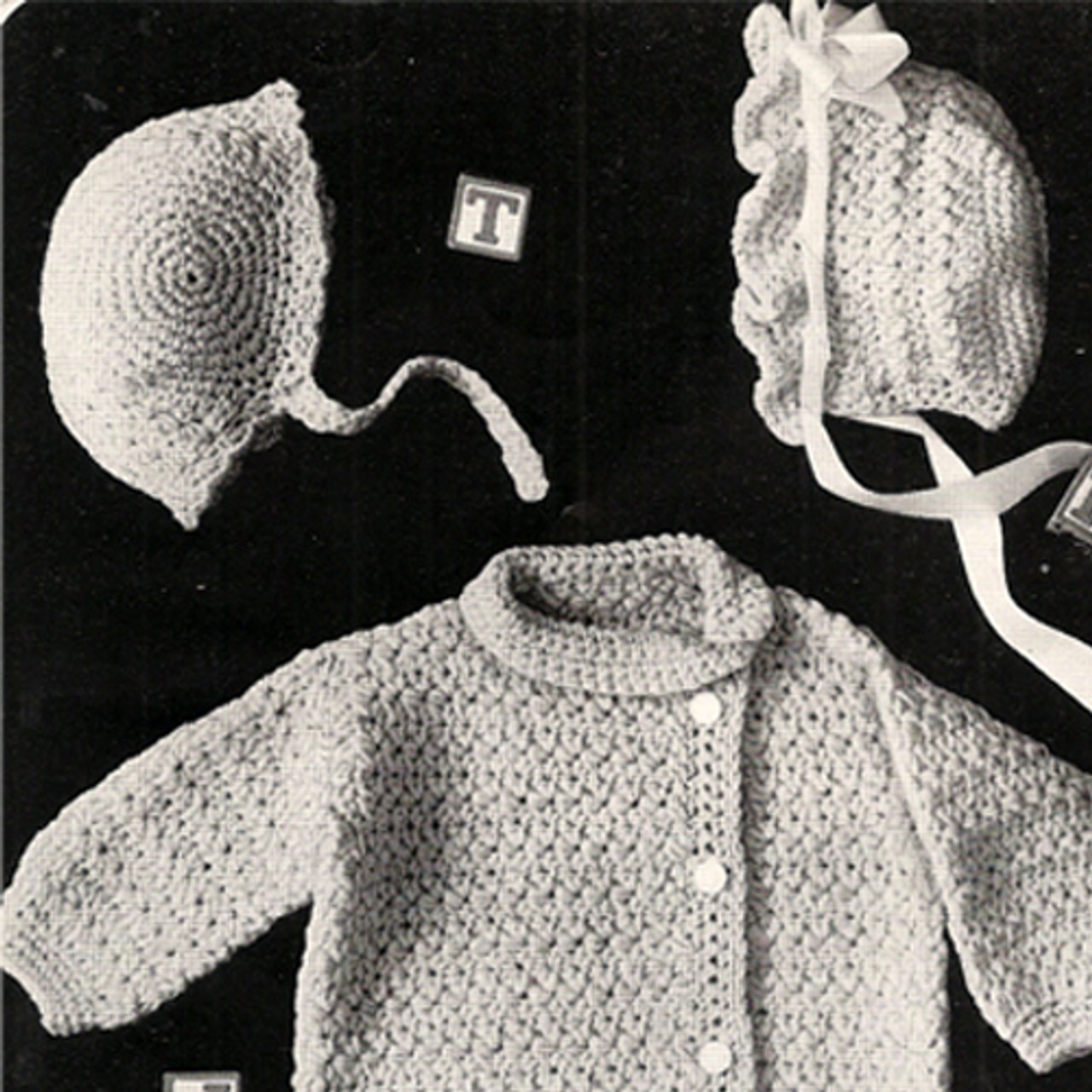 Baby Layette Pattern in Star Stitch