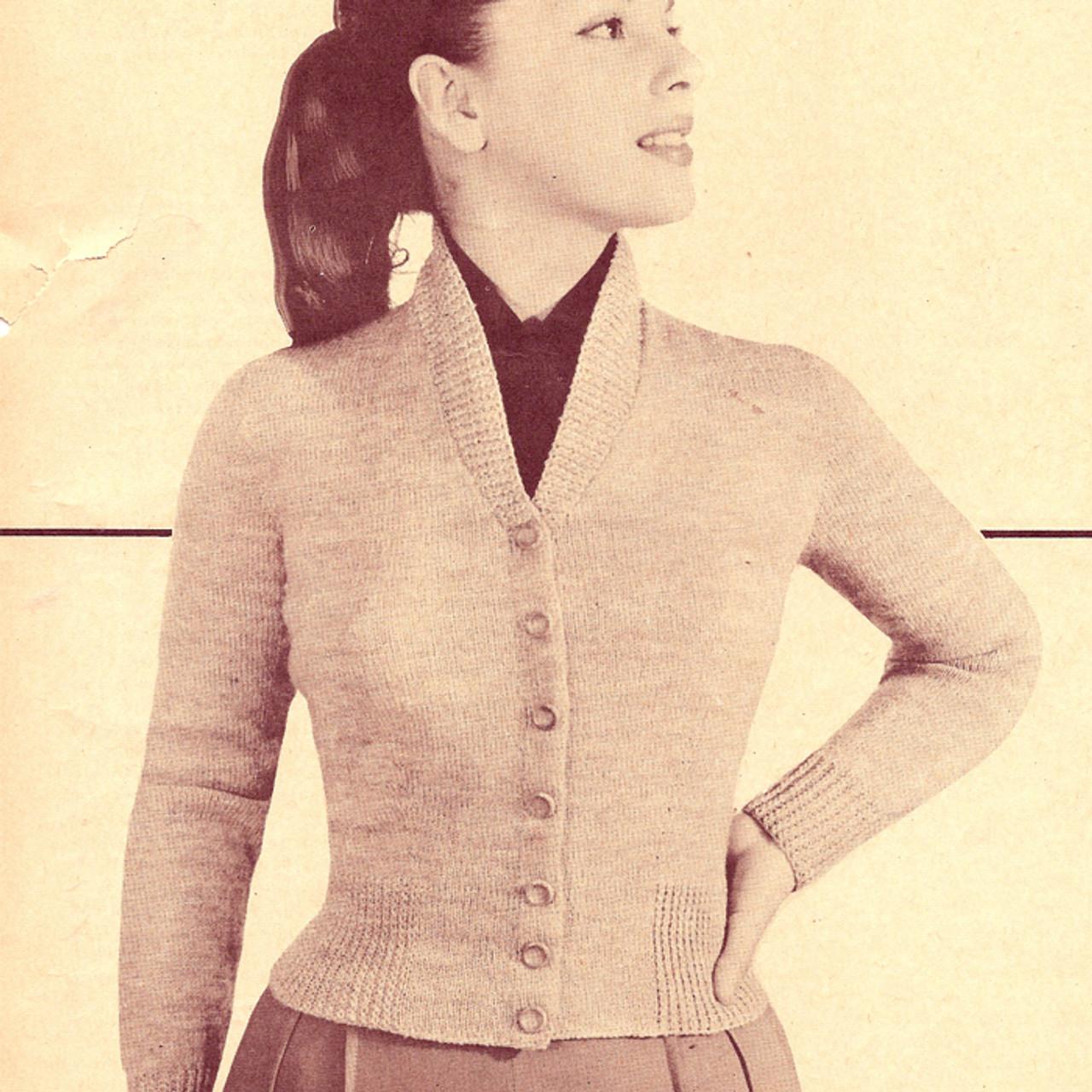 Milanese Cardigan Knitting pattern