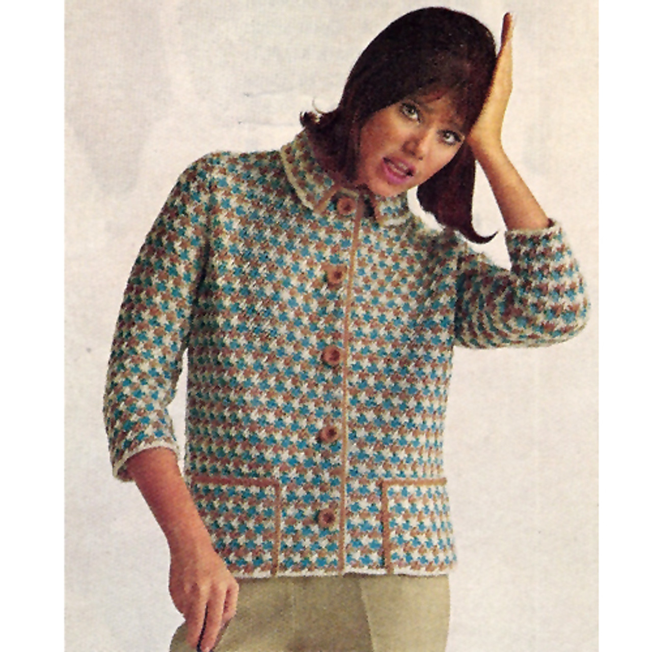 Lake Louise Knitted Cardigan Pattern