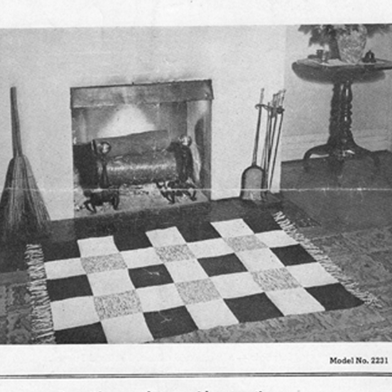 Carpet Warp Crochet Rug pattern