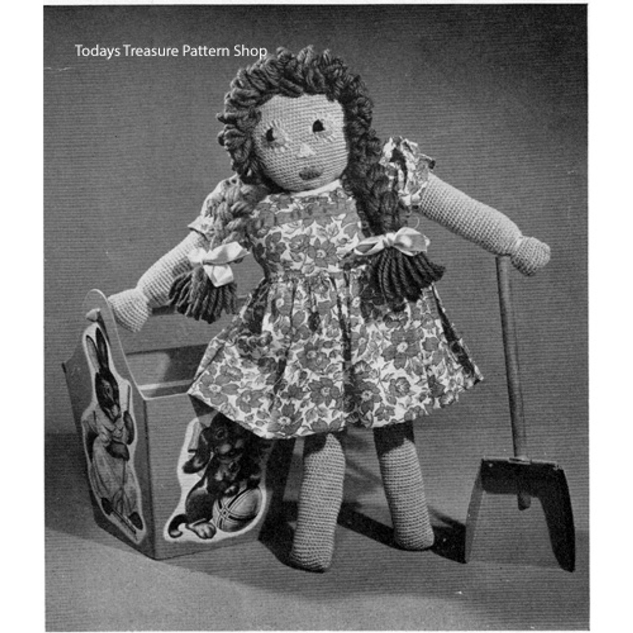 Large Crochet Doll Pattern from Royal Society