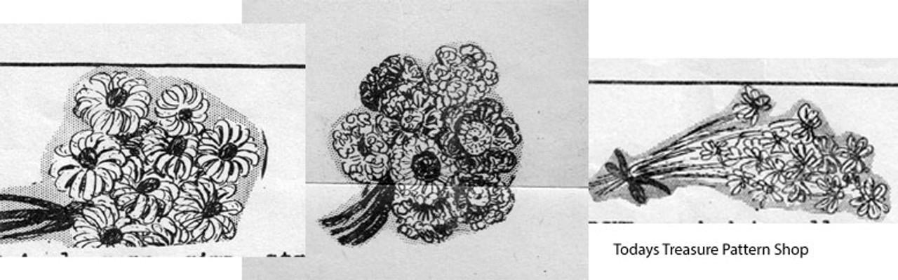 Crochet Flower Illustration