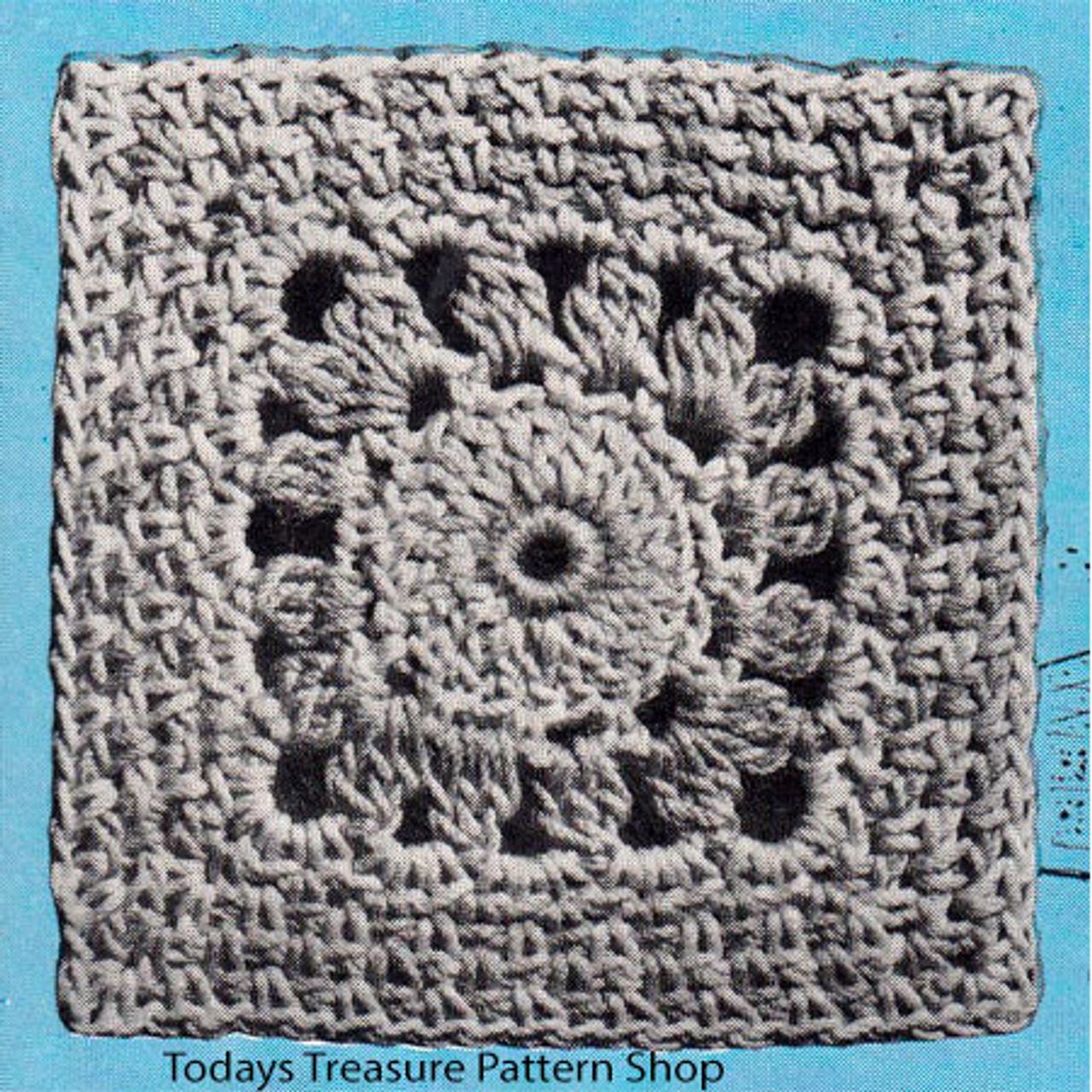 Crochet Georgia Modern Square Pattern