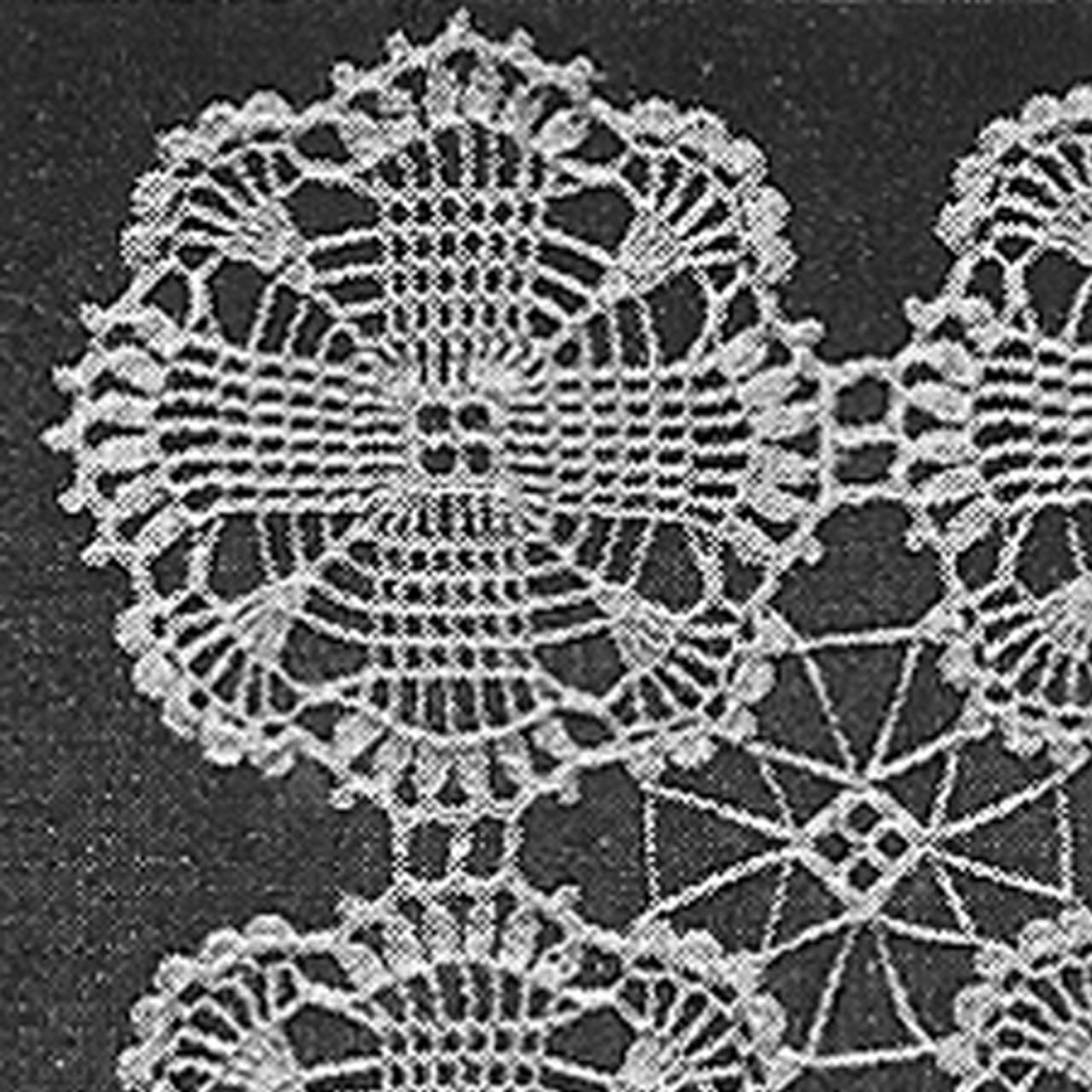 Crochet Medallion Pattern Called Square Dance
