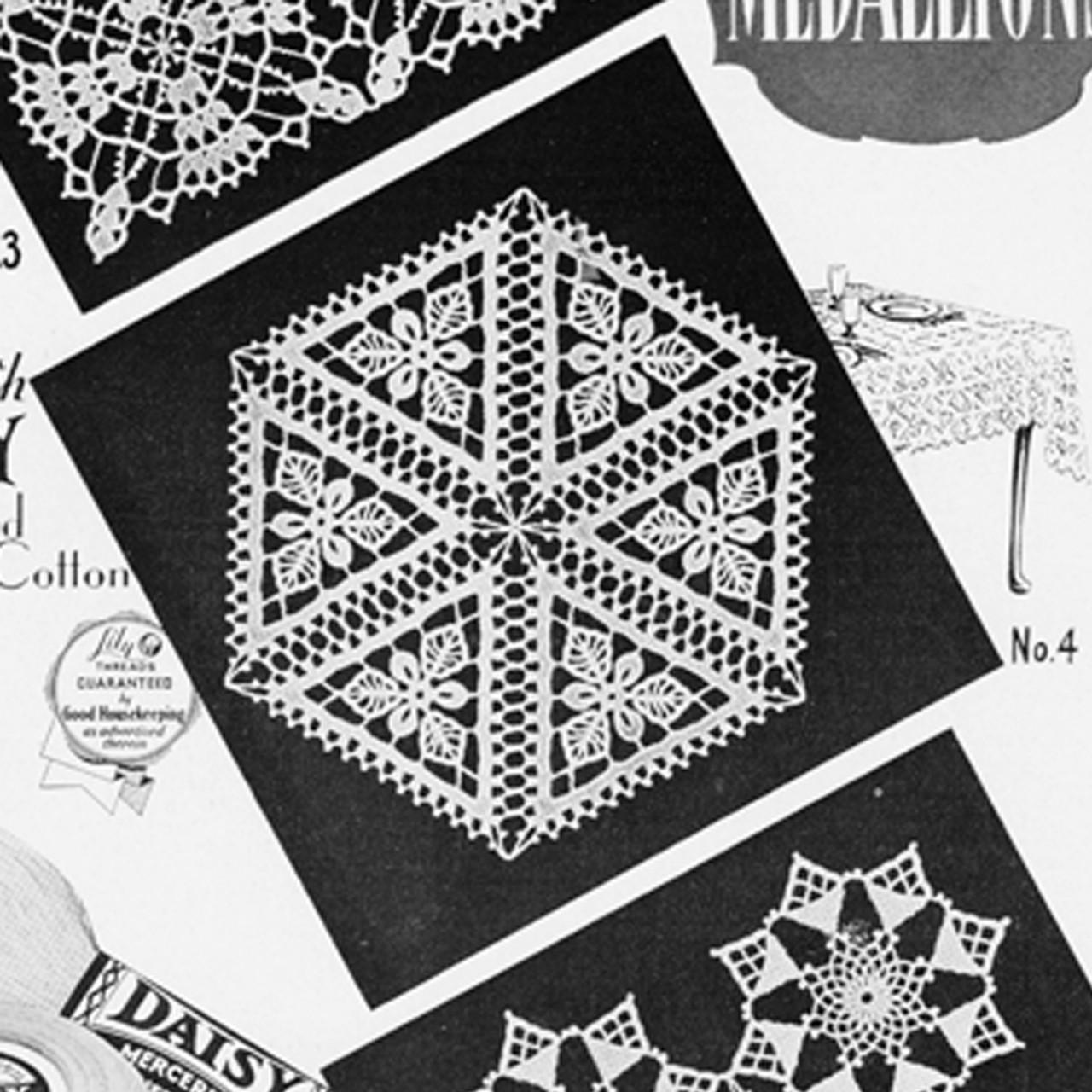 Crochet Hexagon Square Pattern