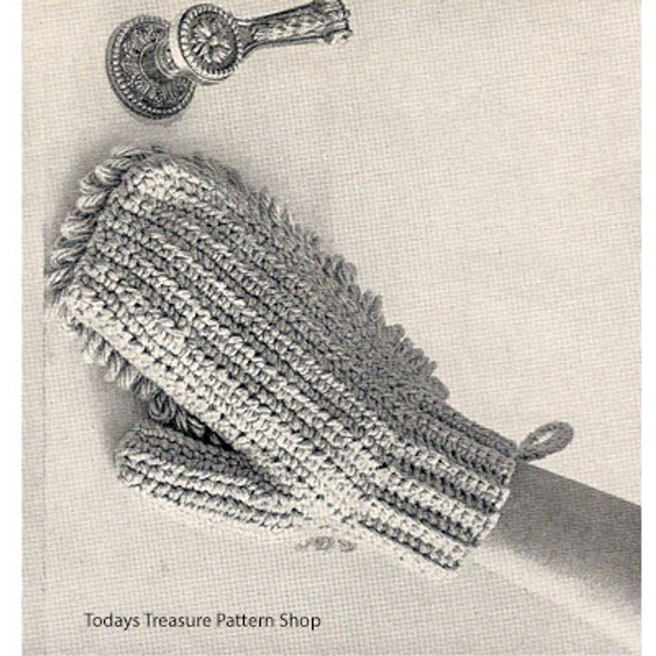 Crochet Dusting Mitten