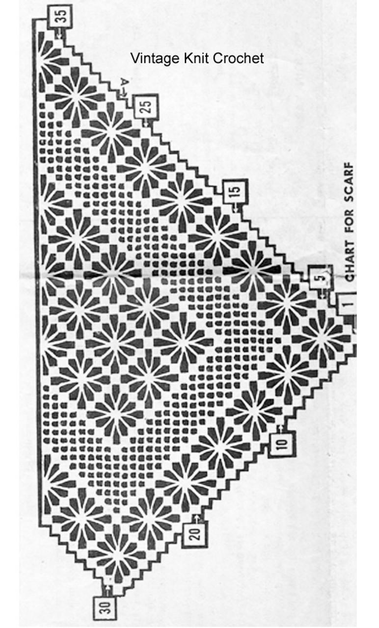 Spiderweb crochet runner illustration, Design 802