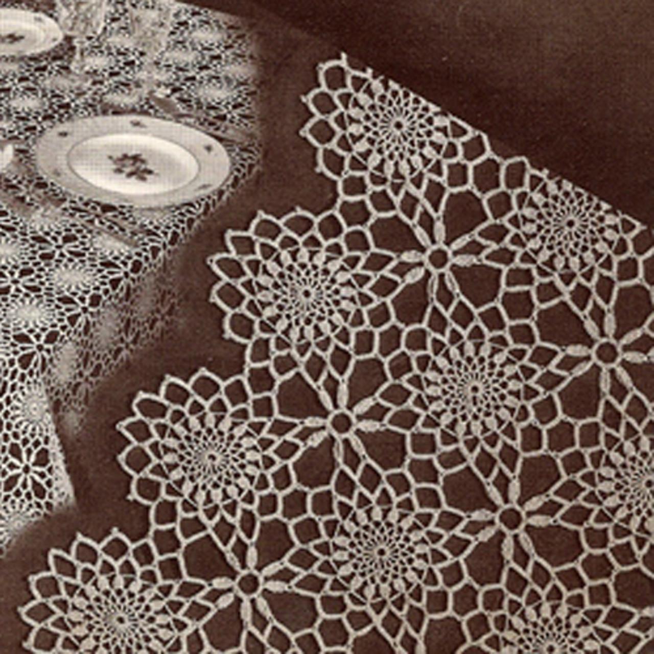 Arlington Crochet Medallion Pattern