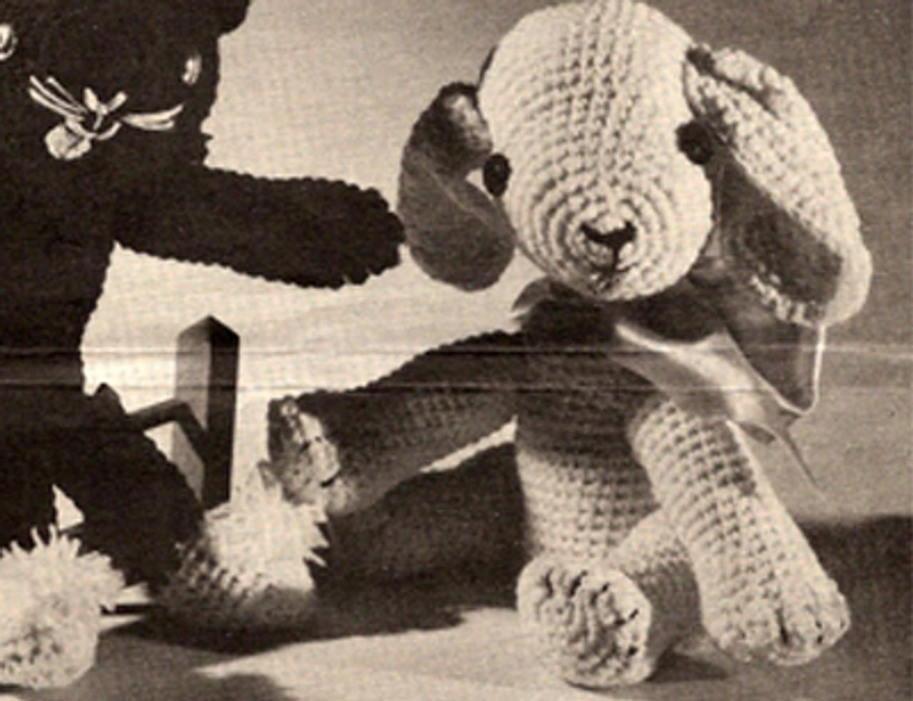 Crocheted Puppy Dog Pattern