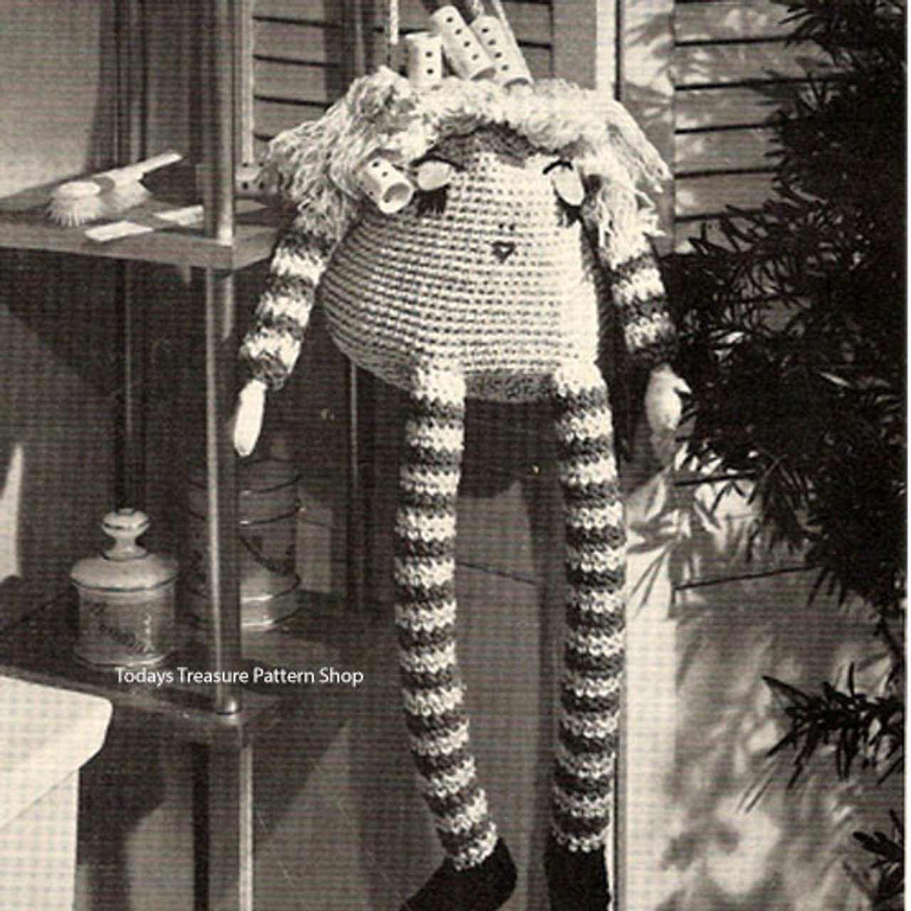 THE CALENDAR KIDS©️ JENNY JANUARY ©️ Crochet Doll Pattern - The ... | 1280x1280