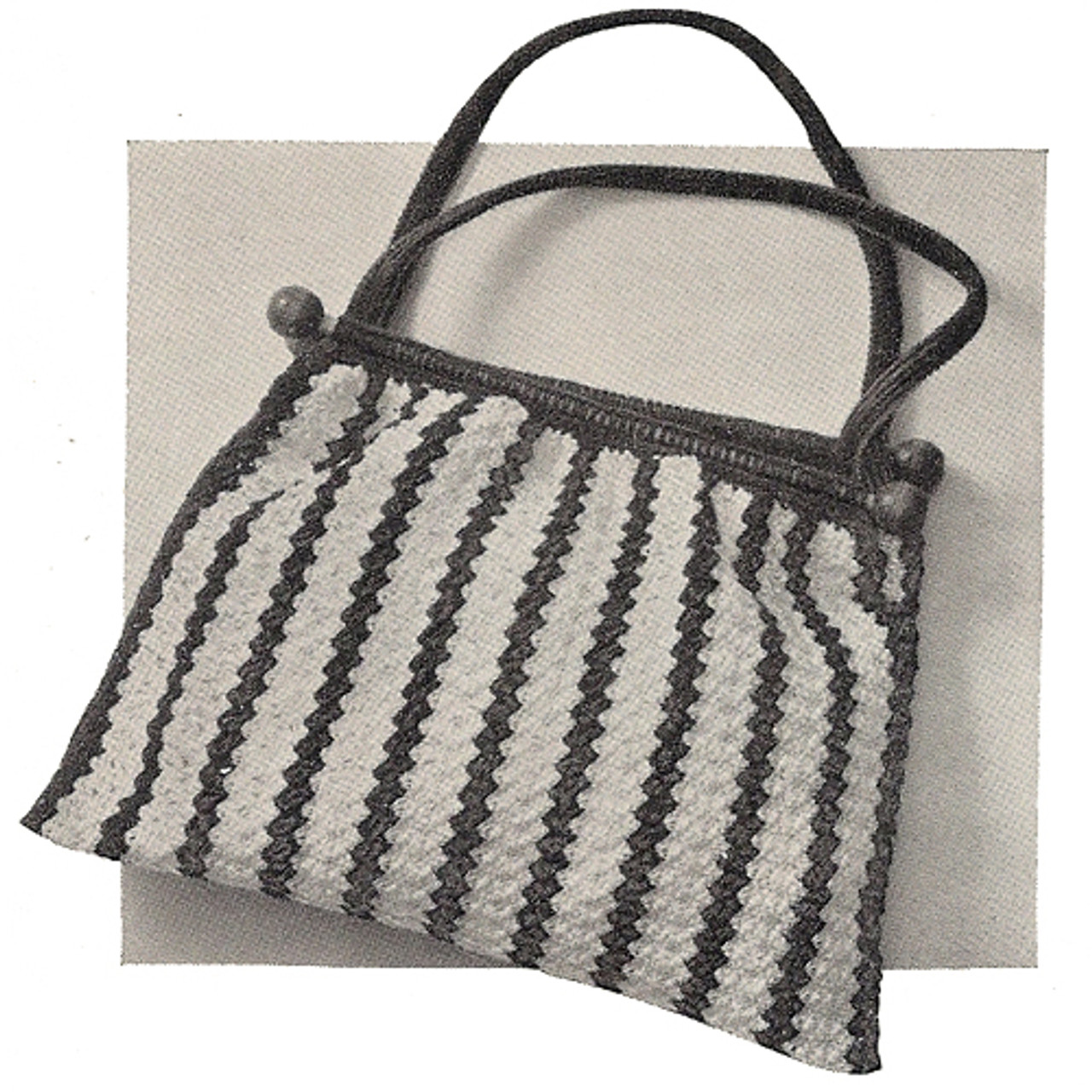 Utility Bag Crochet Pattern