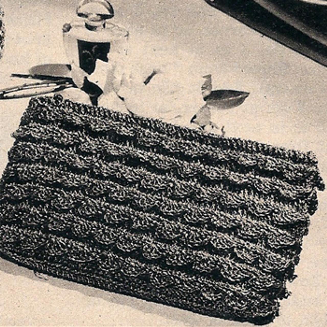 Scalloped Envelope Clutch Crochet Pattern