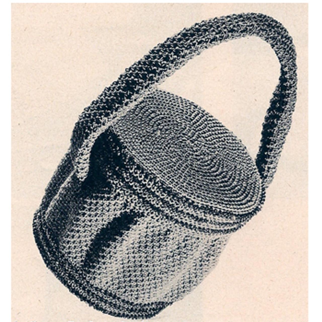 Free Beaded Bag Crochet Pattern