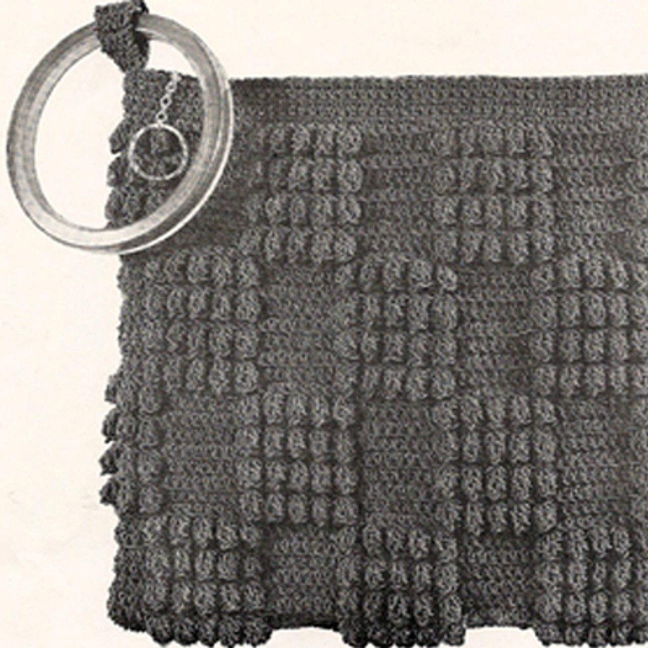Crochet Checkerboard Clutch Pattern called Monte Carlo