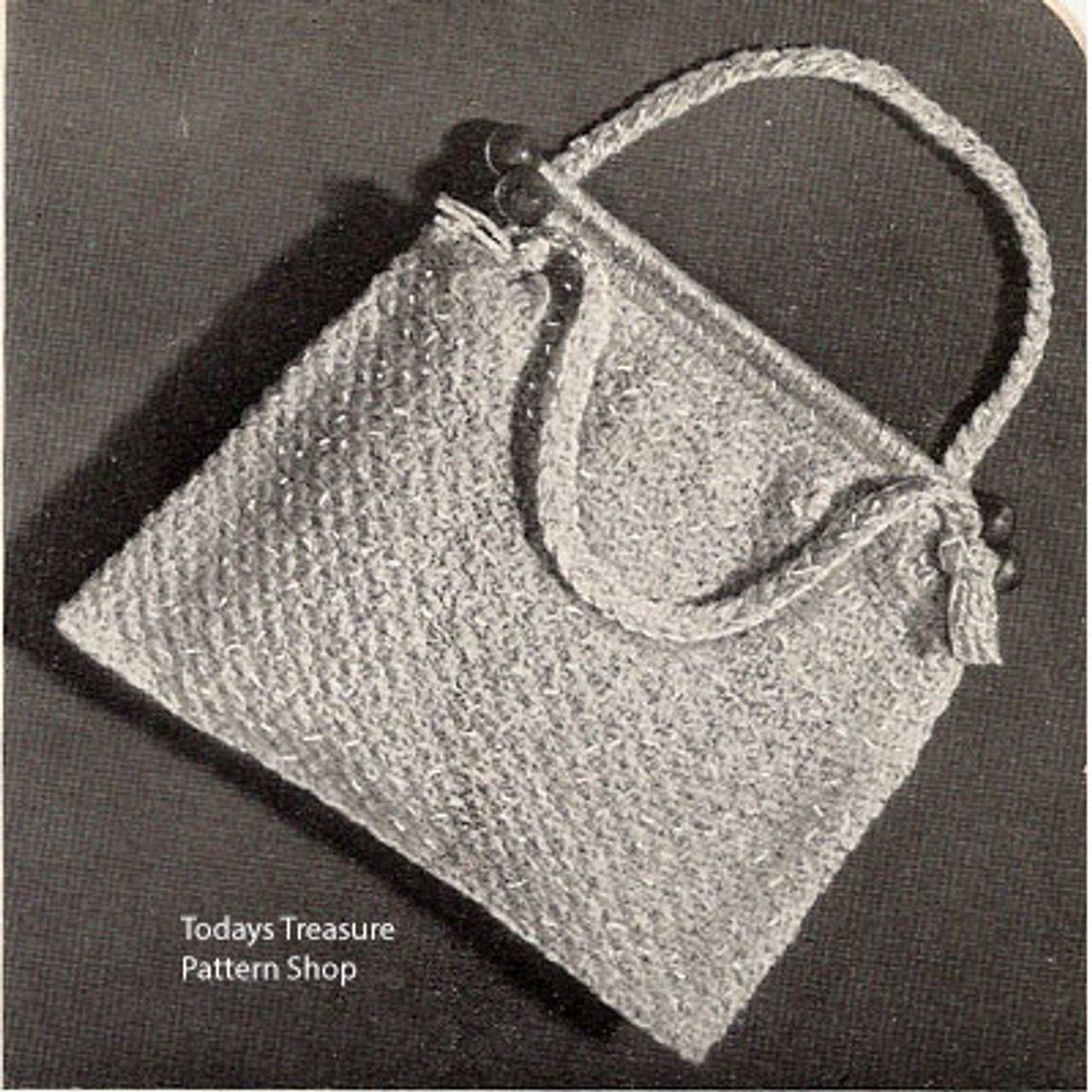 Crochet Utility Bag Pattern for Knitting