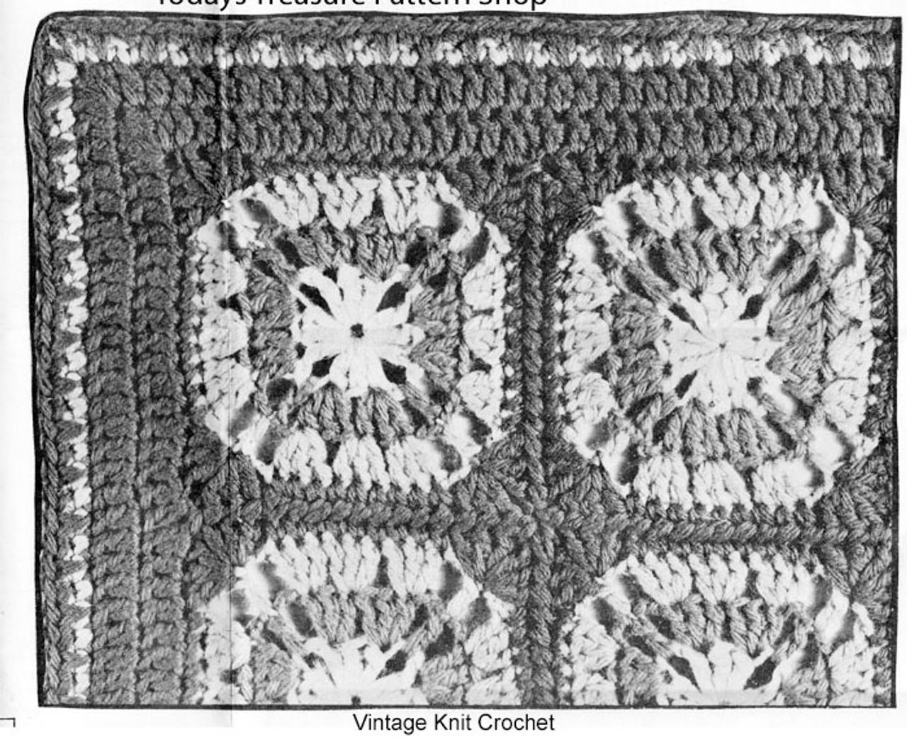 Granny Jacket Squares Illustration, Mail Order 7089