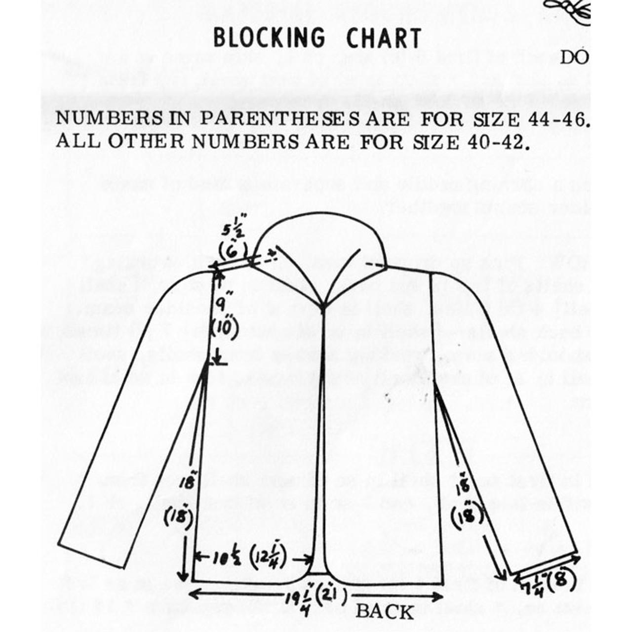 Womens Jacket Crochet Pattern Design 7144