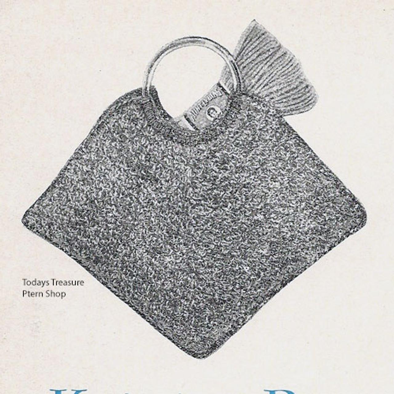 Small Crochet Tote Bag Pattern