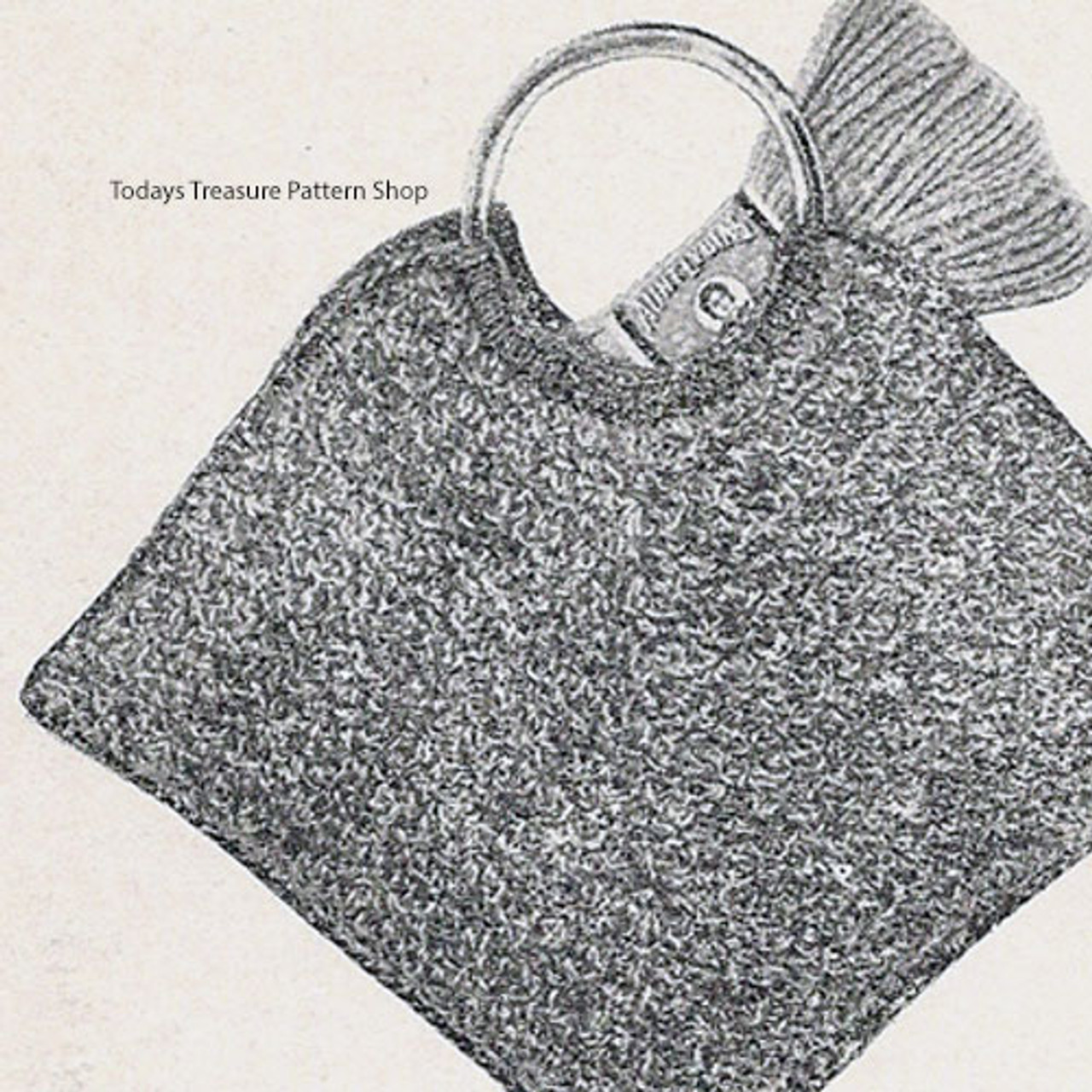 Diamond Shape Crochet Bag Pattern