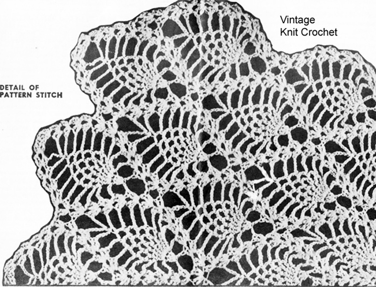 Pineapple Crochet Shrug Pattern, Laura Wheeler 743
