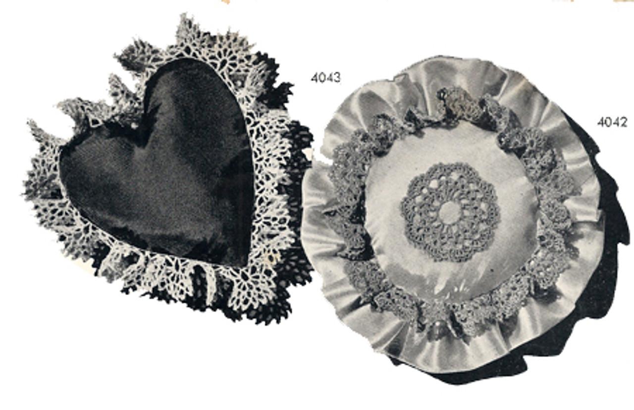 Crochet Edgings Pattern for Pincushions