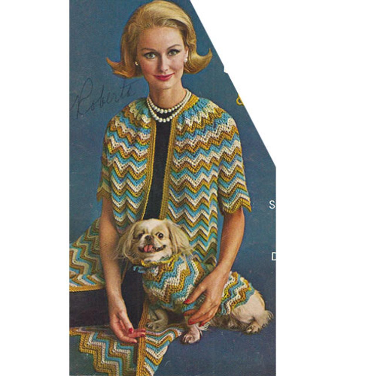 Ripple Coat Crochet Pattern from American Thread