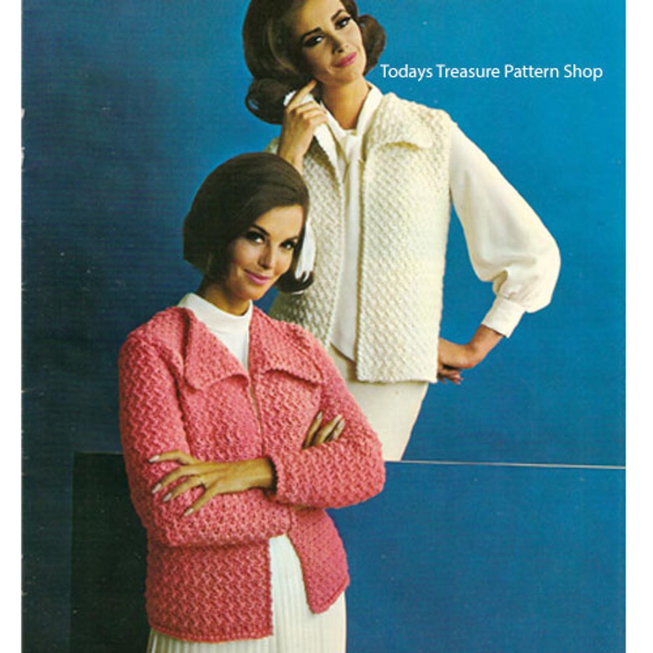 Bulky Cardigan or Vest Crochet pattern