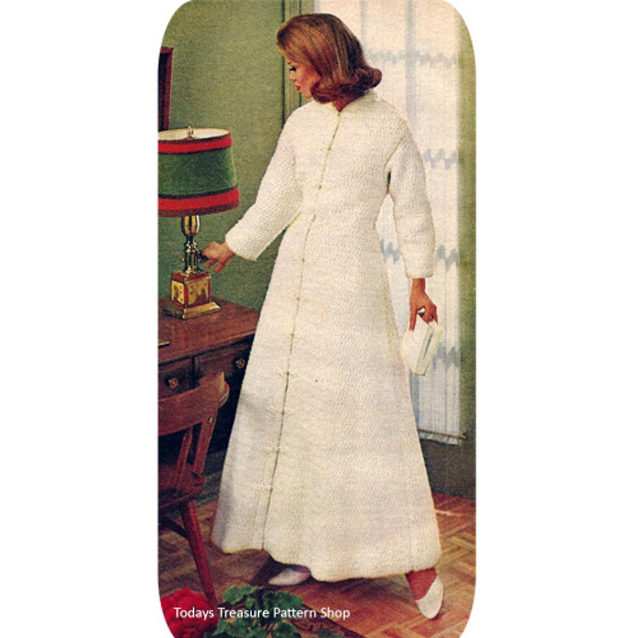 Crochet Floor Length Coat Pattern