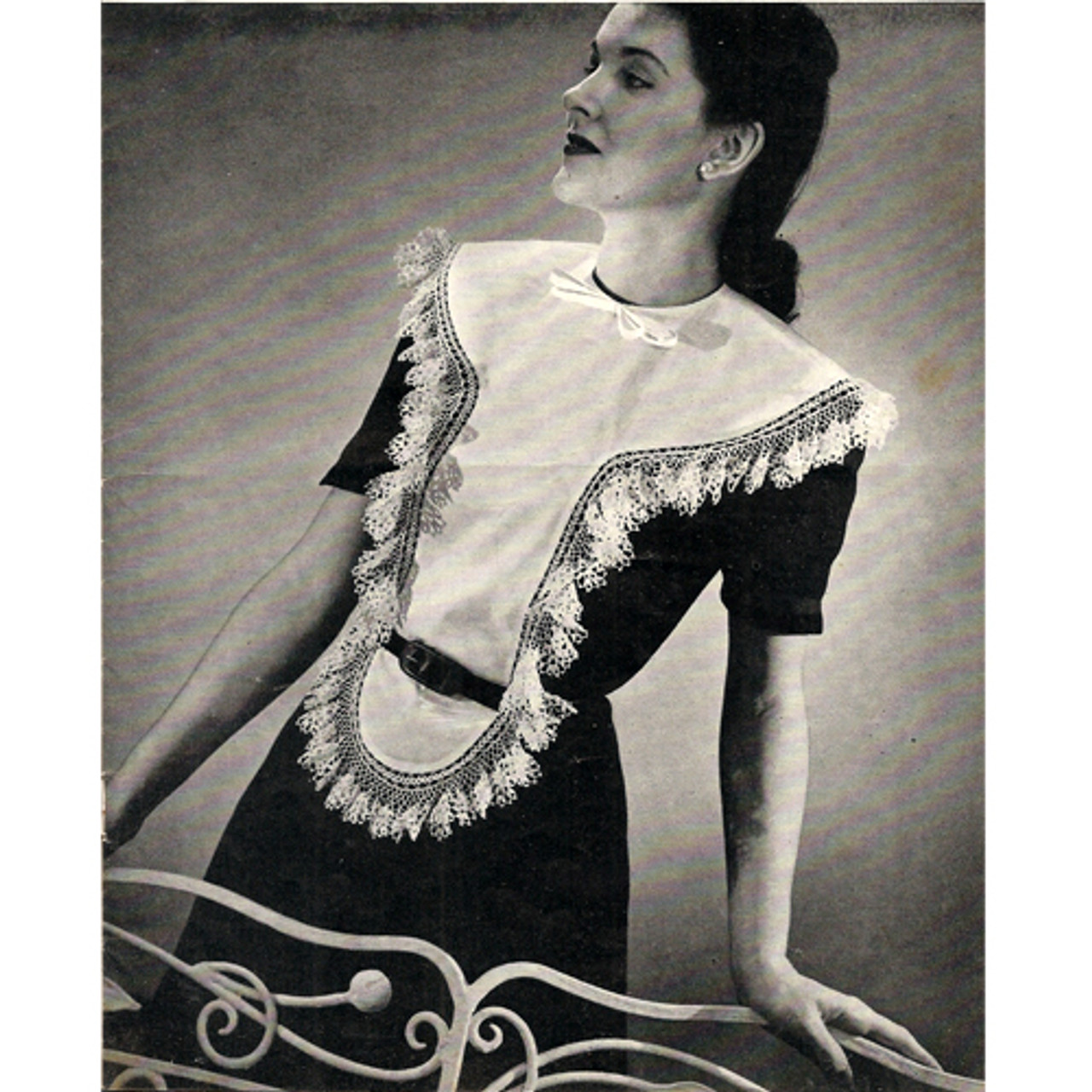 Crochet Edging Pattern for Large Dickey Collar