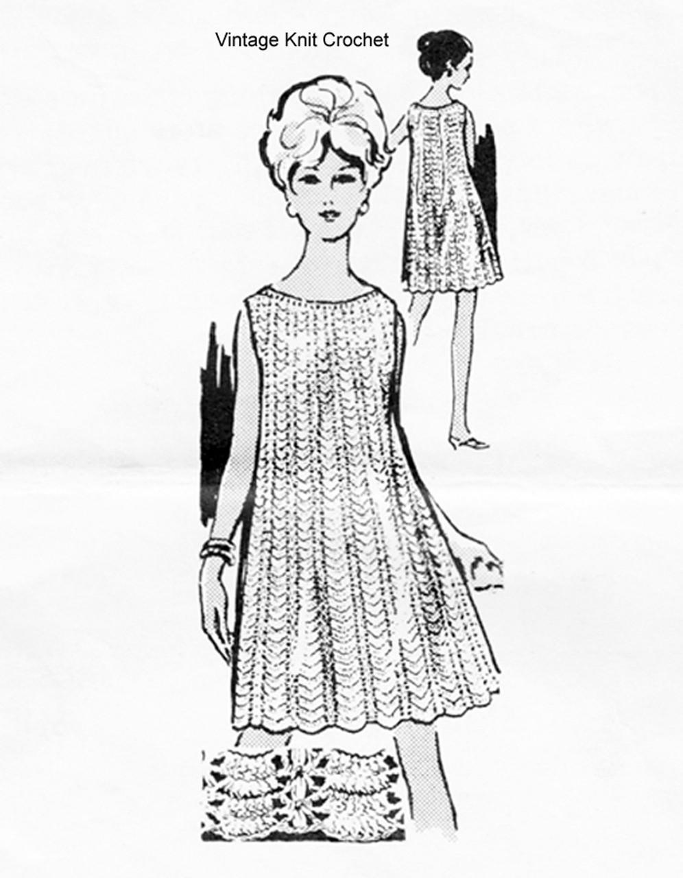 Summer Dress Crochet Pattern, Laura Wheeler 736