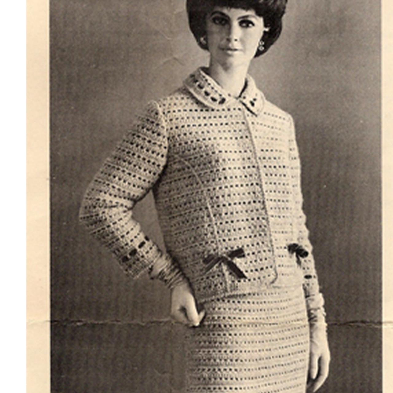 Vintage Suit Crochet Pattern