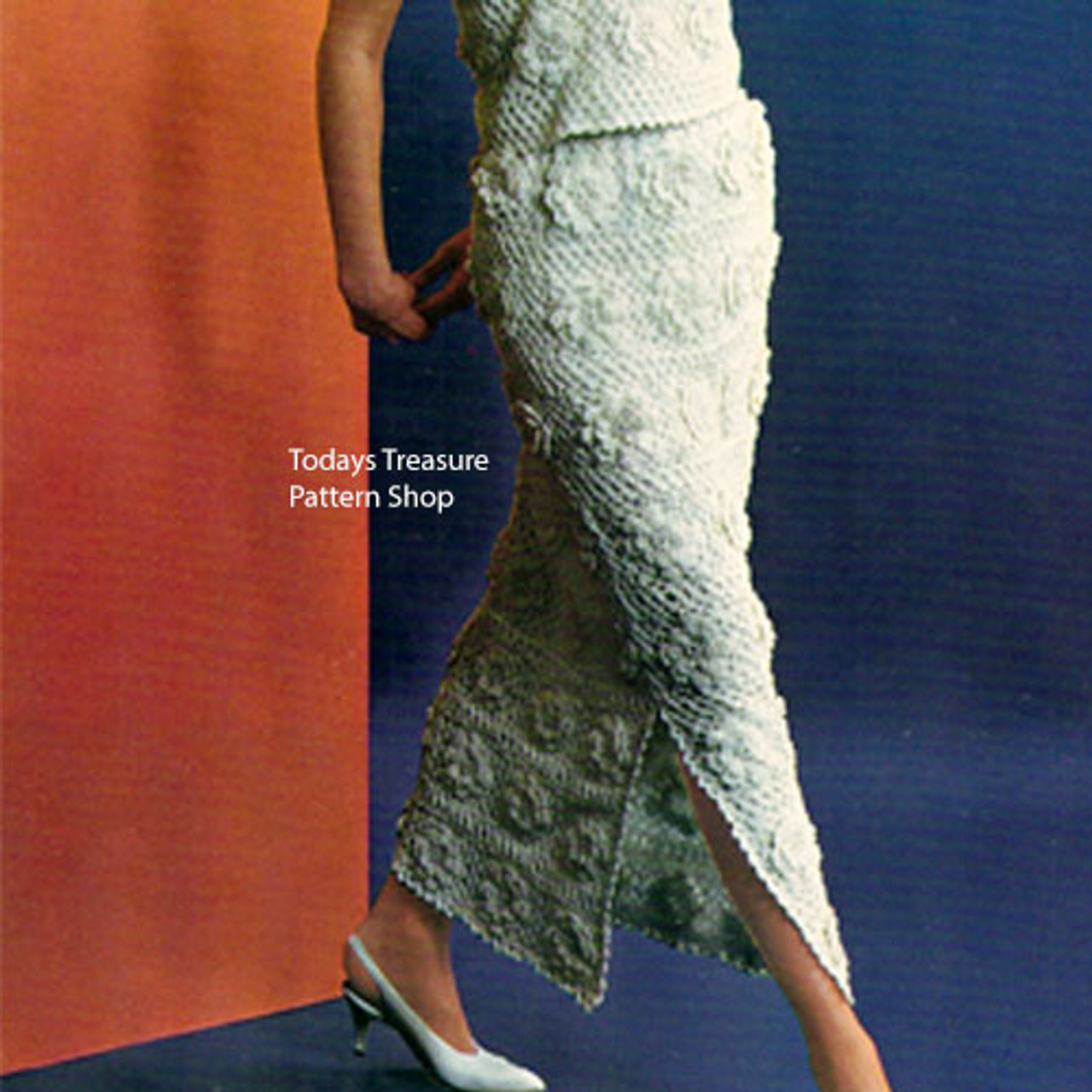 Crochet Evening Skirt Pattern from American Thread