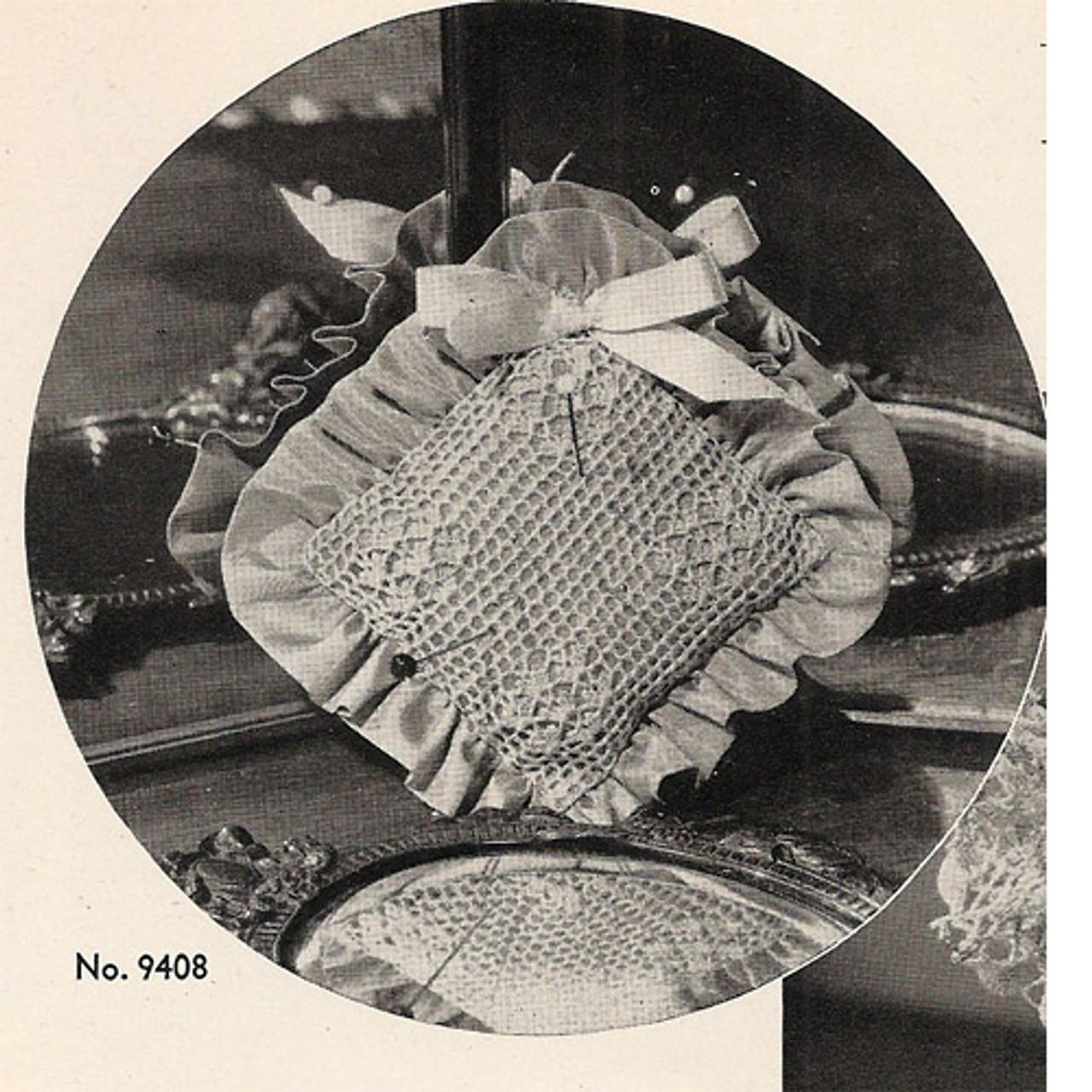 Lacy Crocheted Pincushion Pattern
