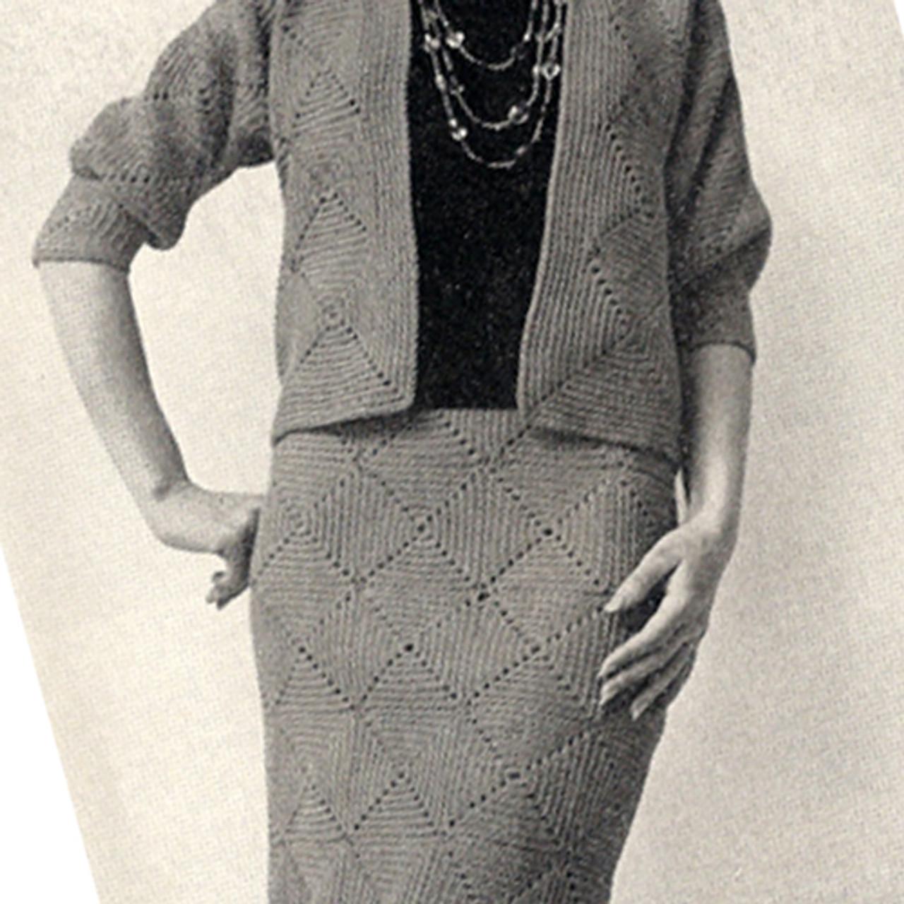 Easy Crochet Skirt Pattern from American Thread