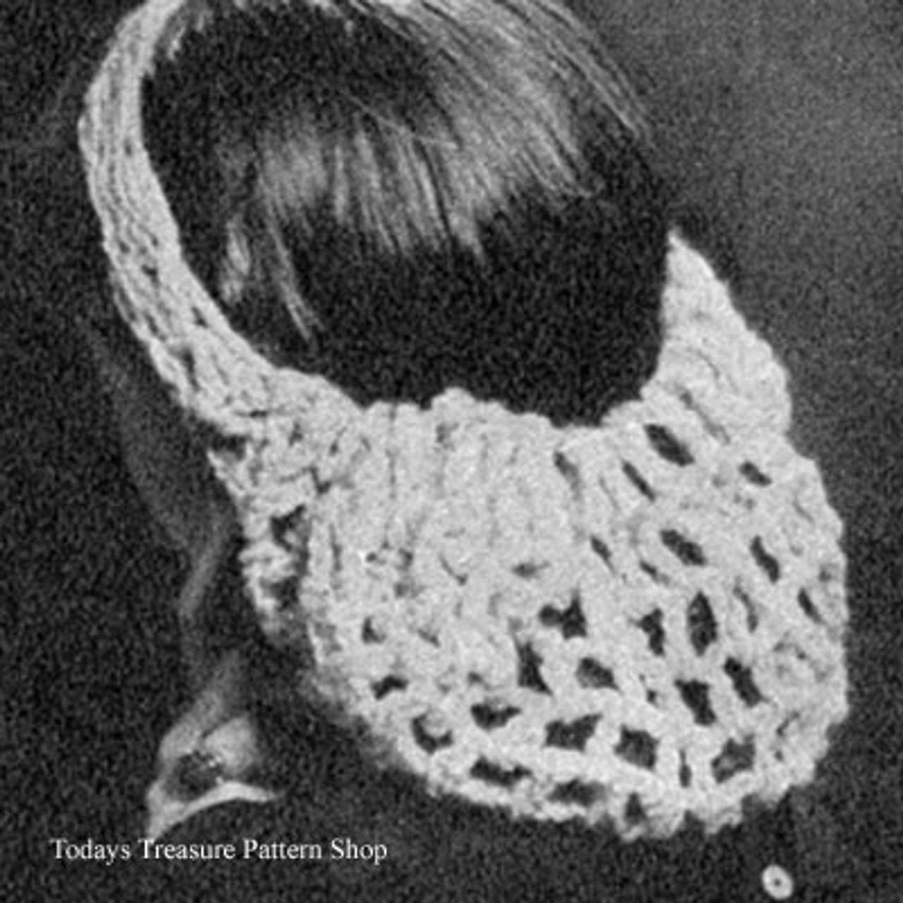 Vintage Crochet Snood Pattern