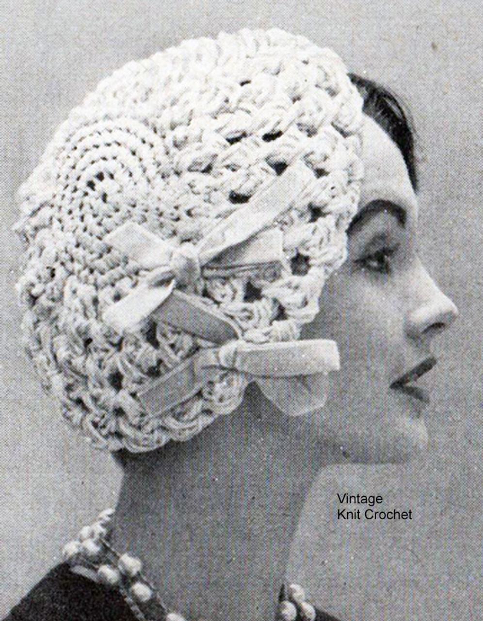 Close Fitting Beret Crochet Pattern